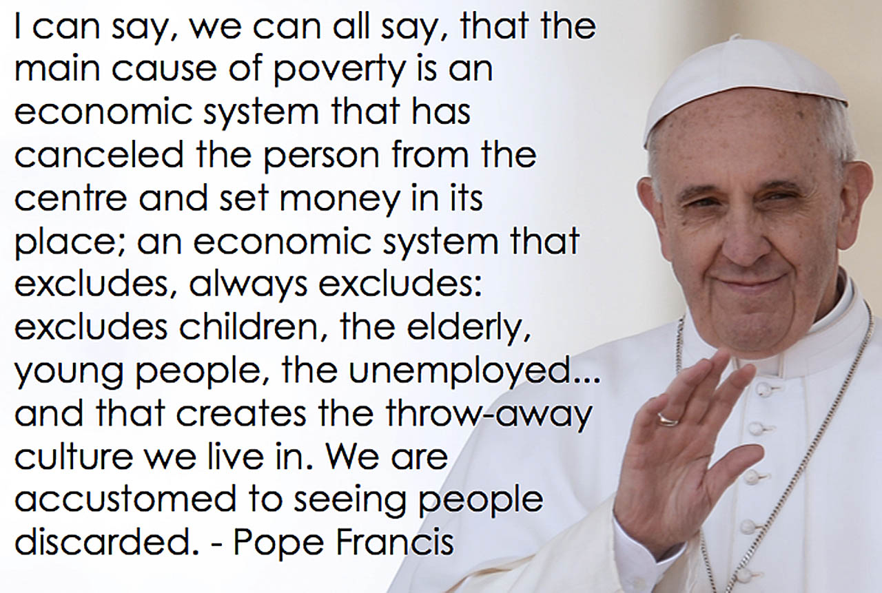 Pope Francis on the Economic System
